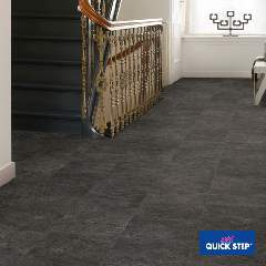 Ламинат Quick Step Slate black EXQ1550 | Extrafloors